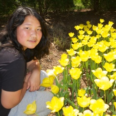 Tina and Tulips