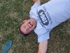I'm always on the ground...
