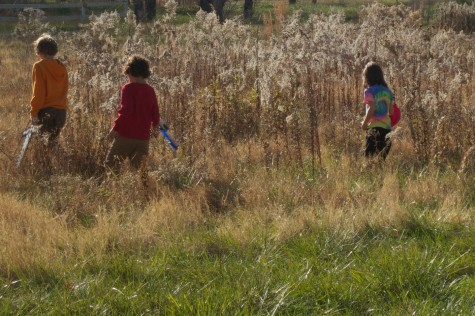 Kids in the weeds