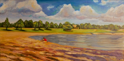 Evie Lake 12x24 $175