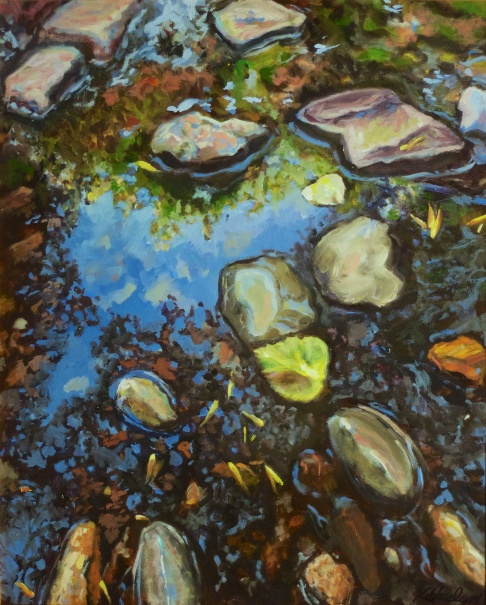 Richland Reflections 23x27 Framed $425