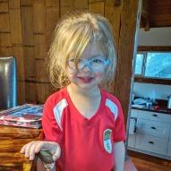 The soccer girl!